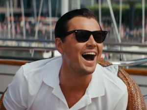 Leonardo DiCaprio is Jordan Belfort