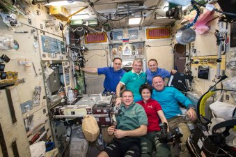 The Crew of the International Space Station