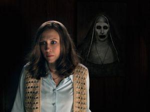 The Demon Nun stalks Mrs. Warren!
